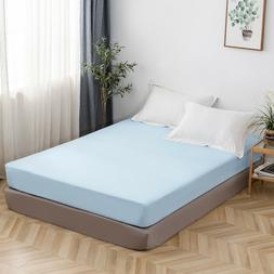 16'' Deep Pocket Bed Fitted Sheet Bottom Sheet Queen Size Po