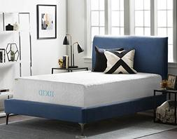 16 Natural Latex and Memory Foam Mattress by LUCID King