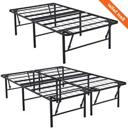 18 high profile foldable bed frame durable