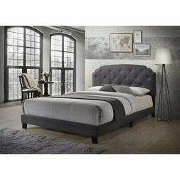 Acme Furniture 26370Q Tradilla Queen Bed in Gray Fabric