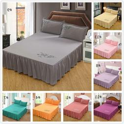 45cm 18 drop dust ruffle bed skirt