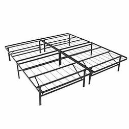Best Choice Products Queen Sized Foldable Metal Platform Bed