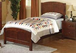 Contemporary Sturdy Youth Kids Bedroom Twin Bed Frame Rubber
