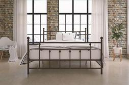 DHP Manila Metal Bed Frame, Queen Size - Bronze