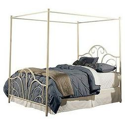 Dover Bed Set - Queen - Bed Frame Included - Cream Finish, C