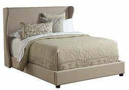 Pulaski Wing Upholstered Bed, Queen