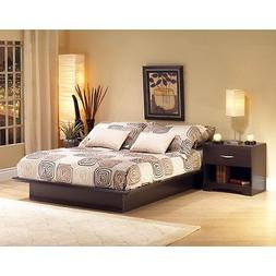 South Shore Canyon Platform Bed Set, Queen
