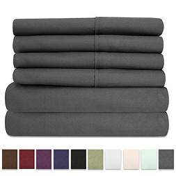 Sweet Home Collection 6 Piece 1500 Thread Count Deep Pocket