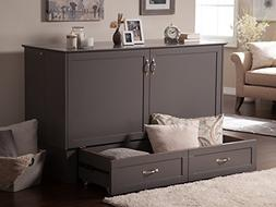 Atlantic Furniture AC604149 Madison Murphy Bed Chest, Queen,