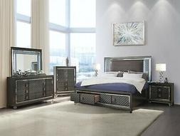 Acme Sawyer Queen 6 Piece Storage Bed Set