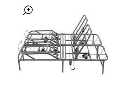 Adjustable Bed Frame Electric Twin Foundation Base Remote Co