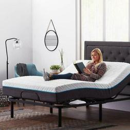 Adjustable QUEEN Electric Motorized Bed Frame Steel Base Inc