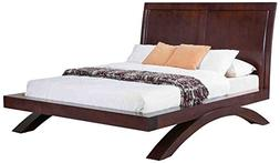 Abbey Avenue B-CAR-QB Cardinal Platform Bed, Queen, Savory E