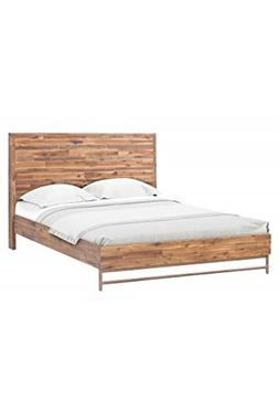 Tov Furniture Bushwick Collection Acacia Wood Bed, Queen