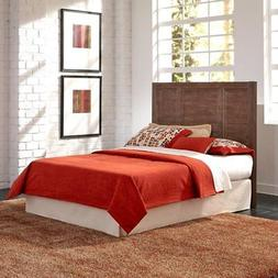 Home Styles Barnside Panel Bed - Aged Barnside