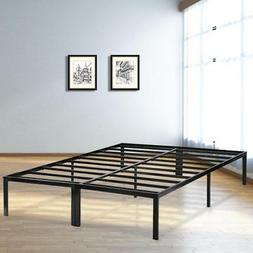 Bed Frame Metal  Platform Bed Frame Base Mattress Foundation