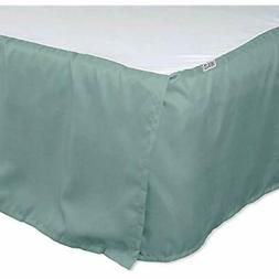 Bed Skirt - Aqua, Queen  Home Kitchen
