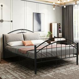 black queen metal bed frame
