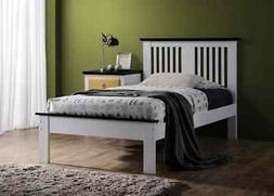 ACME Furniture Brooklet Queen Bed in White and Black