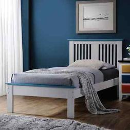 ACME Furniture Brooklet Queen Bed in White and Blue