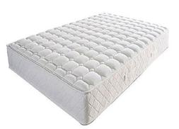 "KING SIZE COIL SPRINGS FIRM MATTRESS 8"" back relief comfort"