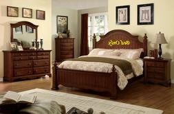 contemporary design queen size bed distressed style