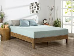 Zinus Marissa 12 Inch Deluxe Wood Platform Bed / No Box Spri