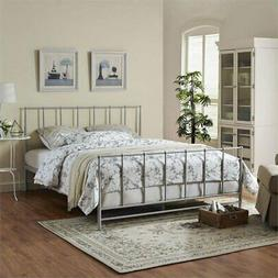 Modway Estate Bed, Queen, Gray