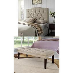 Pulaski 2 Piece Everly Upholstered Queen Headboard and Bed B