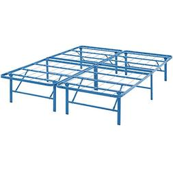 Modway Horizon Queen Bed Frame in Light Blue - Replaces Box