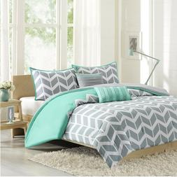 Intelligent Design ID10-232 Naida 5 Piece Comforter Set44; T