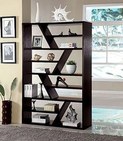 1PerfectChoice Kamloo Contemporary Style Display Zigzag Shel