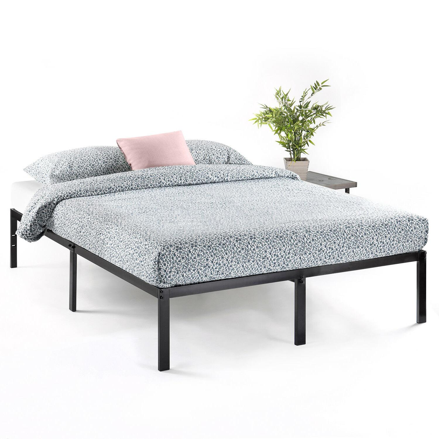 14 classic metal platform bed with heavy