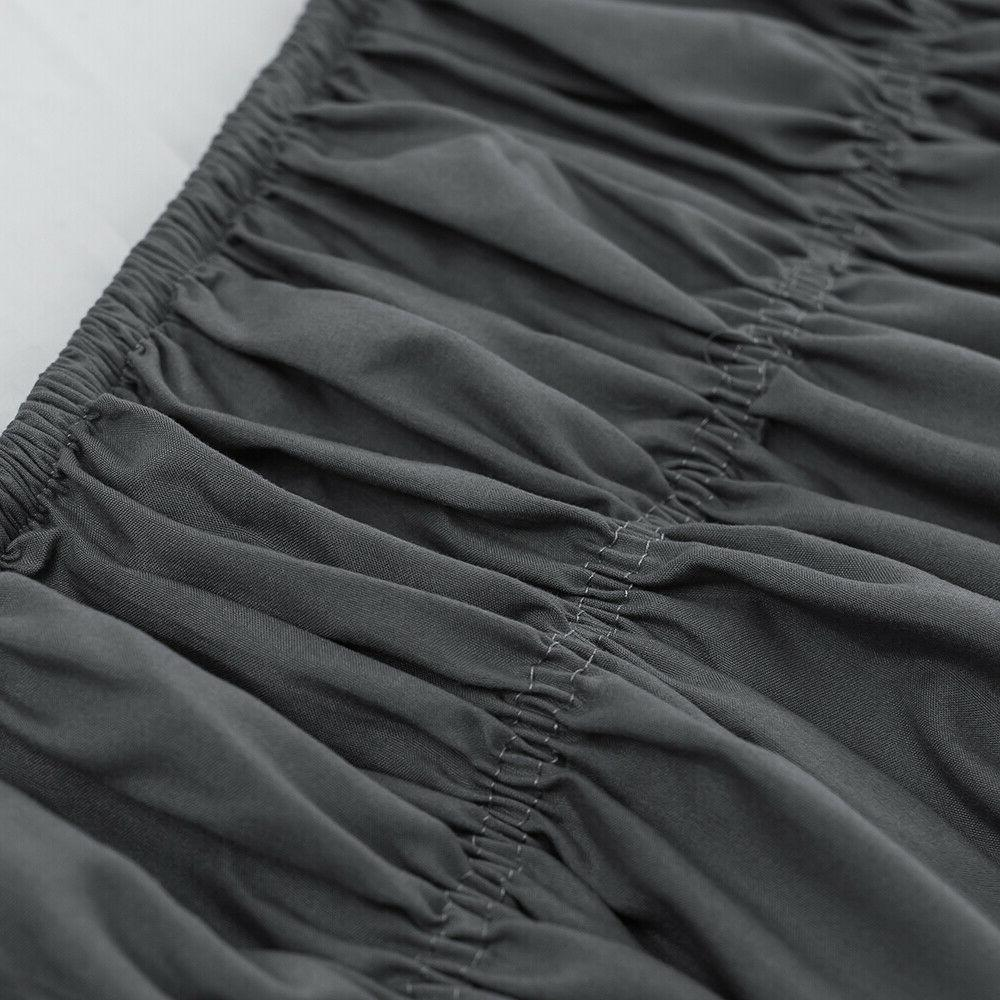 14'' 16'' 18'' Bed Skirt King Dust Wrap Around Bed