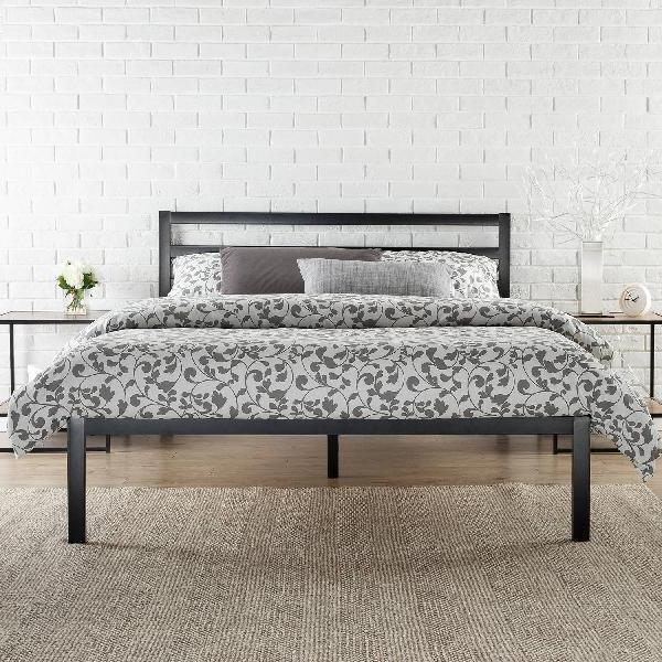 """Zinus 14"""" Bed with Headboard, Sizes"""
