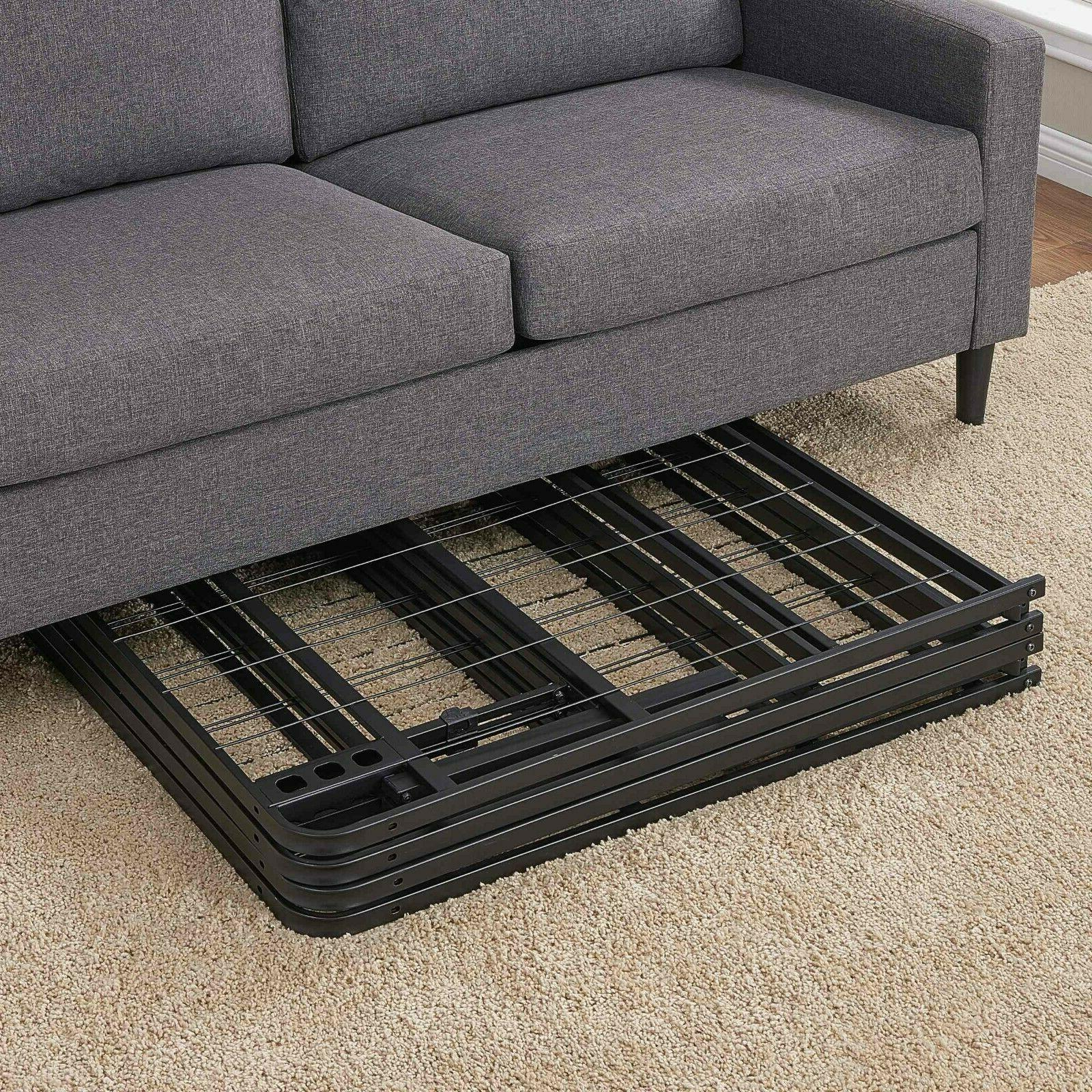 """18"""" Profile Bed Frame Durable Duty Powder Coated Steel"""