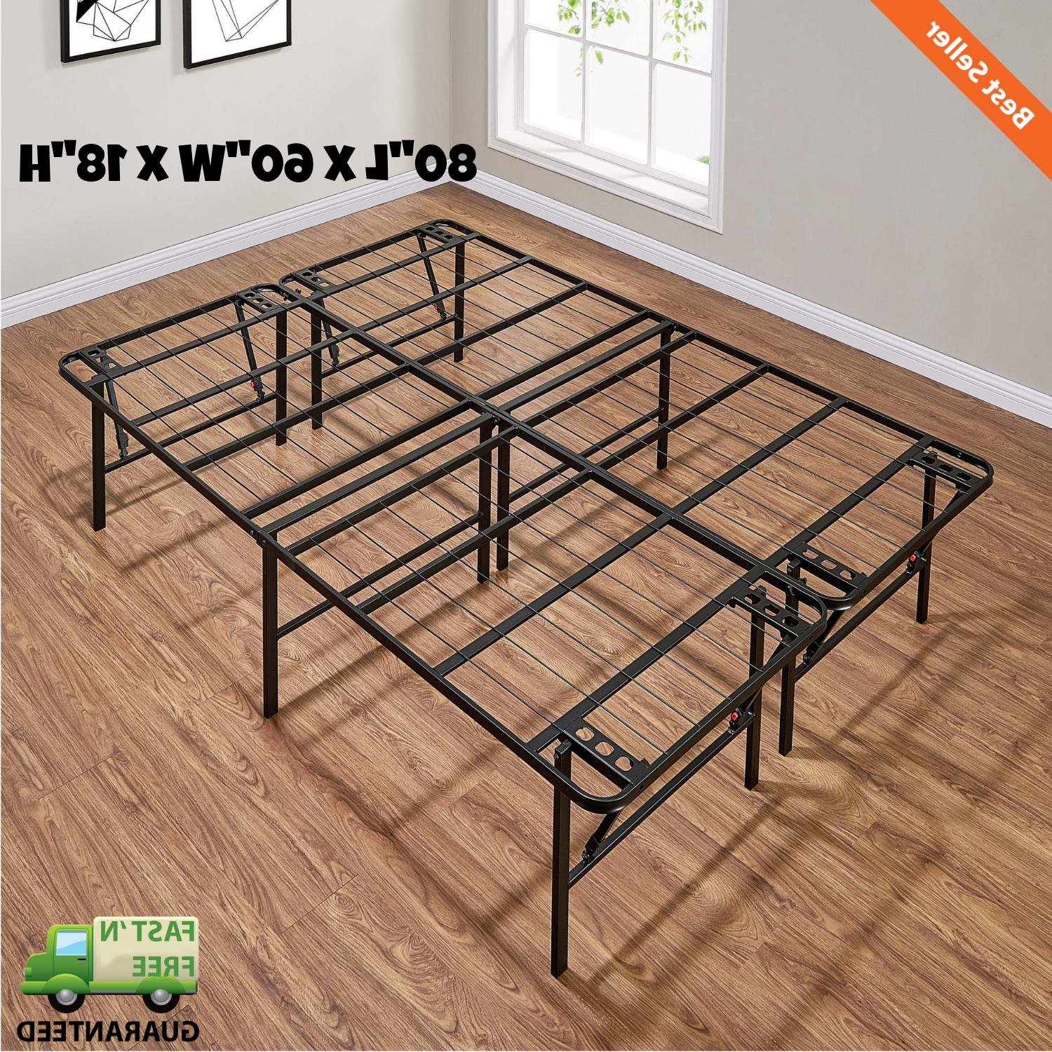 18 inch platform bed frame high profile