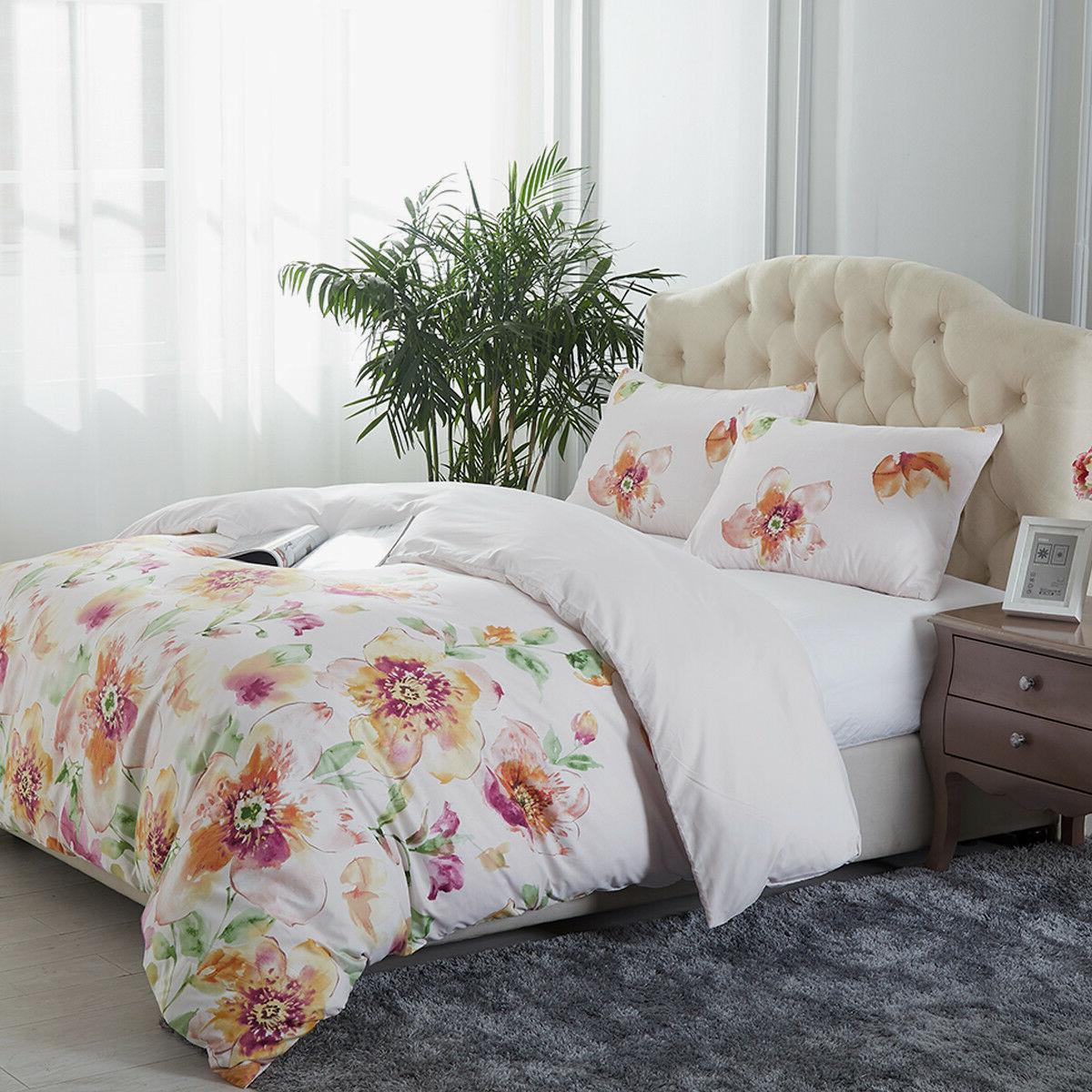 3 Printed Cover Comforter Cover Set Queen/King
