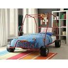 Acme Furniture 37645T Xander Twin Bed Red Go Kart-1 Set NEW
