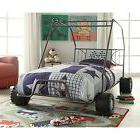 Acme Furniture 37640T 2 Count Xander Bed, Twin, Gunmetal Go