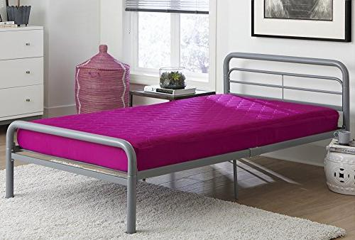 DHP 6-inch Quilted Perfect for Bunk Daybeds, Twin Twin -