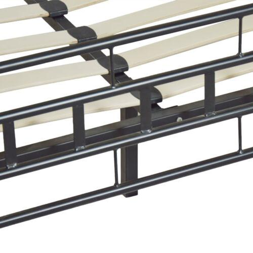 Durable Queen Slats Bed Frame Headboard New