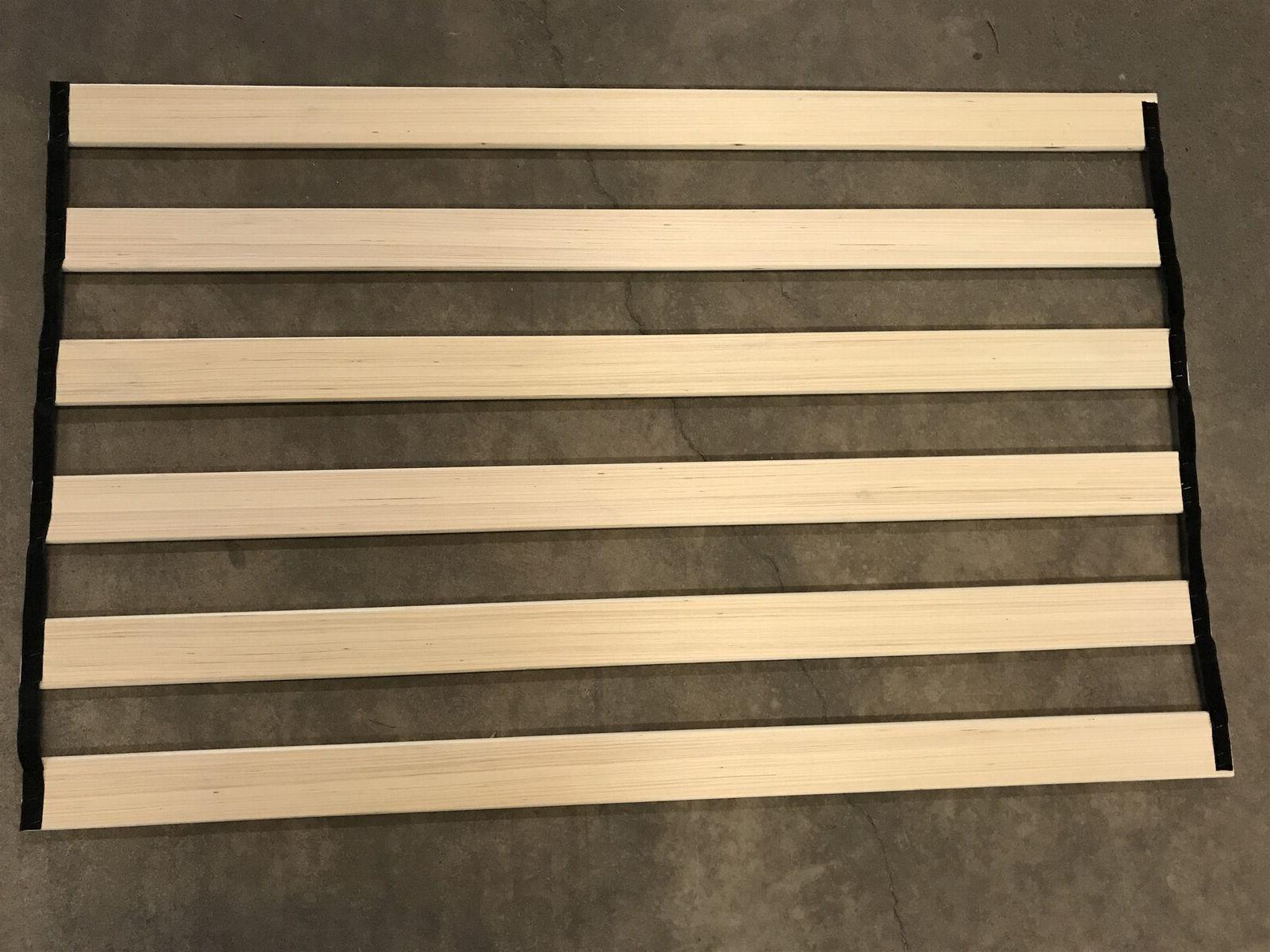 "Genuine OEM Zinus 57"" replacement wood slats w/velcro queen"