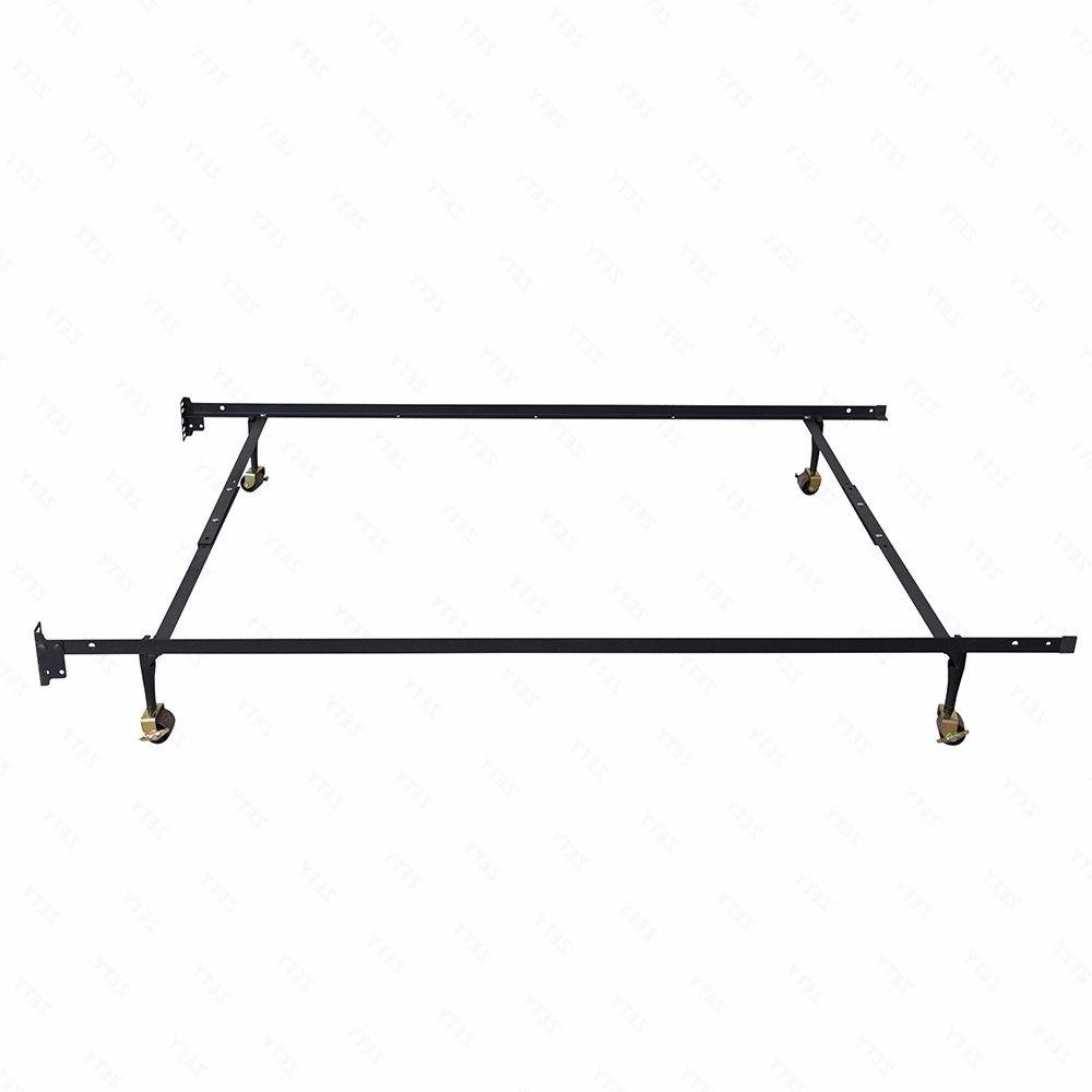 Adjustable Metal Bed Twin Queen Size Heavy Duty with