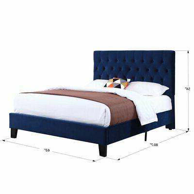 Pemberly Tufted Queen Platform Bed