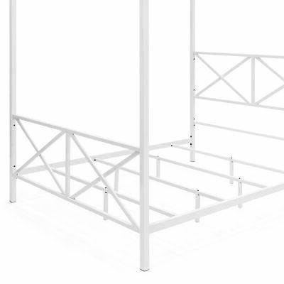 BCP Modern Post Canopy Queen Frame