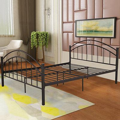 Costway Metal Bed Platform Furniture