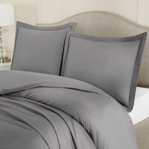 Egyptian 3 Piece Ultra Duvet Cover Comforter