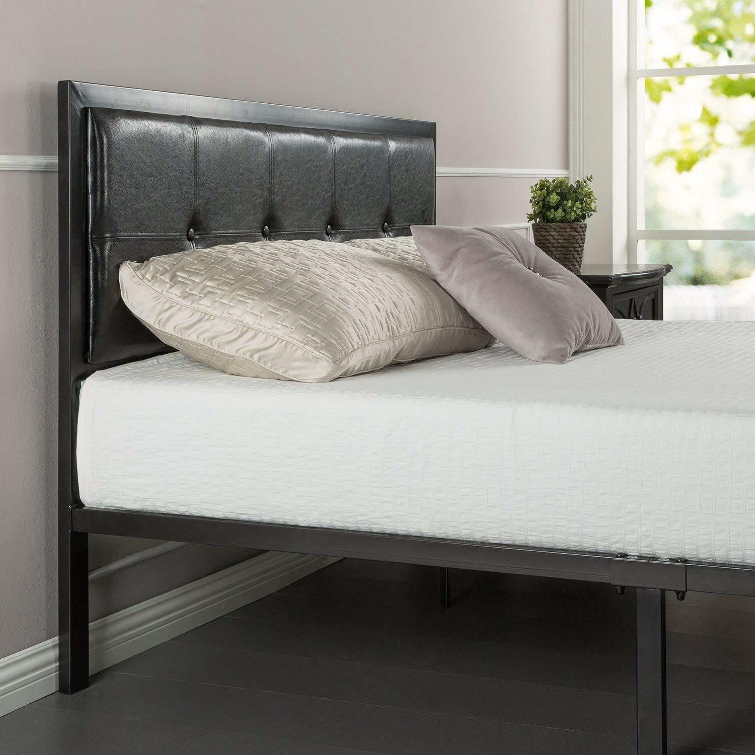 Platform Bed Frame with Steel Support