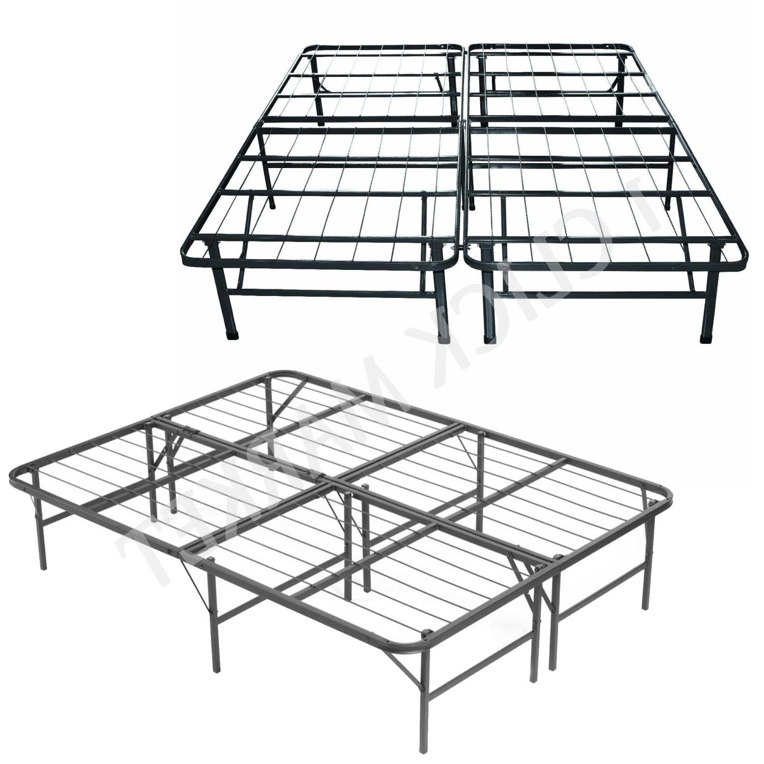 QUEEN Size Bed Heavy Duty Metal Mattress Foundation